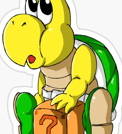 Poopa Troopa (boy) Sticker