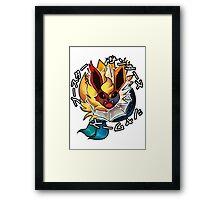 MASTER EVOLUTION Framed Print
