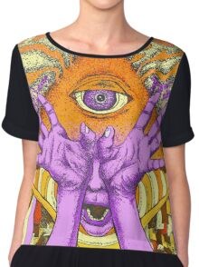 Aperception of the Ancients Chiffon Top