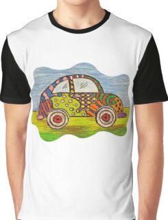 VW Punch Buggy Vroom Vroom Graphic T-Shirt