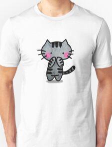 Tabby Kätzchen Unisex T-Shirt