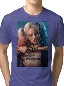 Harley Quinn Tri-blend T-Shirt