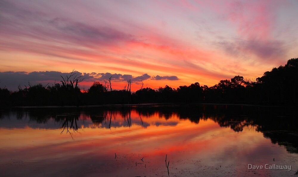 Lagoon Sunset by Dave Callaway