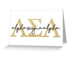 Alpha Sigma Alpha Greeting Card