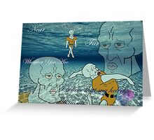 Handsome Squidward-  My Heart Will Go On Greeting Card