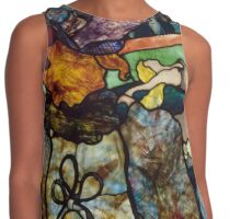 Toulouse Lautrec: At the Circus (Stained Glass) Contrast Tank