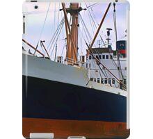 RMS Newfoundland, Ocean Liner Ship in Halifax iPad Case/Skin