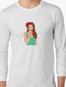 Lana Del Rey Long Sleeve T-Shirt