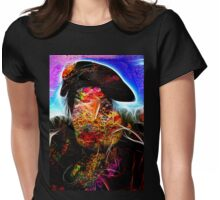 Abstract #2 Womens Fitted T-Shirt