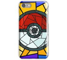 Stained Glass Pokeball iPhone Case/Skin