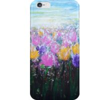 Tulips at Sunrise iPhone Case/Skin