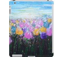 Tulips at Sunrise iPad Case/Skin