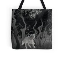 Wild Horse in the Forest Tote Bag