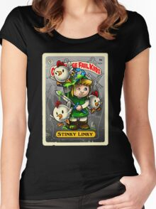 Stinky Linky Women's Fitted Scoop T-Shirt