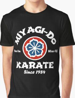 Wax On Wax Off Miyagi-Do Graphic T-Shirt