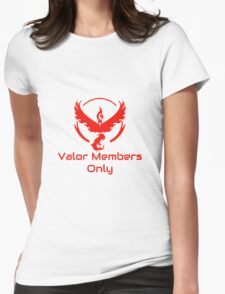 Pokemon GO- Valor Members Only Womens Fitted T-Shirt
