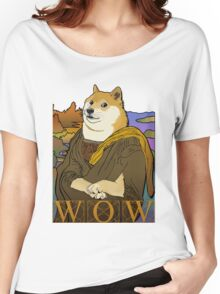 Mona Doge Women's Relaxed Fit T-Shirt