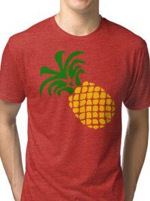 Pineapple, blue Tri-blend T-Shirt
