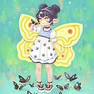 Butterfly Girl by freeminds