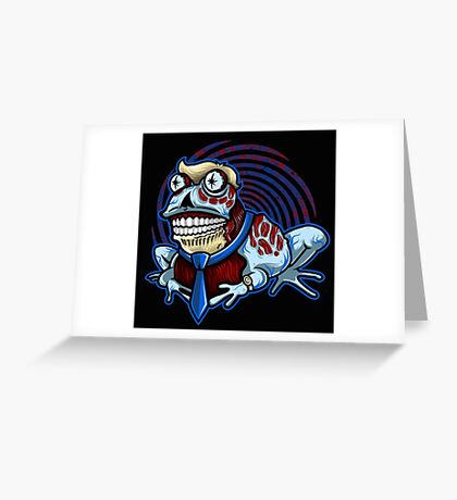 HypnOBEYtoad Greeting Card