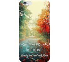 Supernatural-Fear no evil, the cult iPhone Case/Skin