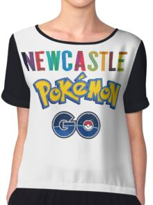 Pokemon Go Newcastle Chiffon Top