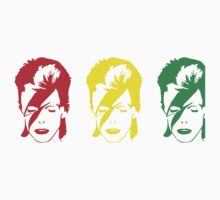 tribute for bowie Kids Tee