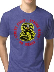 COBRA KAI Karate Kid All Valley Tri-blend T-Shirt