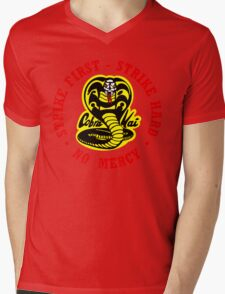 COBRA KAI Karate Kid All Valley Mens V-Neck T-Shirt