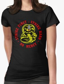 COBRA KAI Karate Kid All Valley Womens Fitted T-Shirt