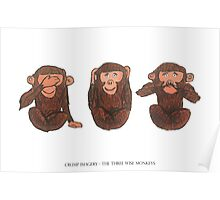 The Three Wise Monkeys Poster