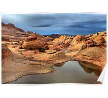 Northern Arizona Monsoon Pool Poster