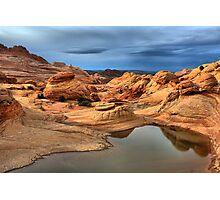 Northern Arizona Monsoon Pool Photographic Print