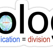 Multiplication Equals Division Sticker
