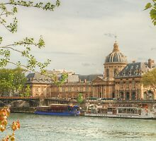 Institut de France by the Seine by Michael Matthews