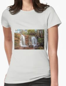 Twin Falls at Ironstone Gully Womens Fitted T-Shirt