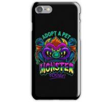 Adopt a Pet Monster iPhone Case/Skin