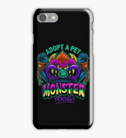 Adopt a Pet Monster iPhone Case/Skin