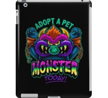 Adopt a Pet Monster iPad Case/Skin