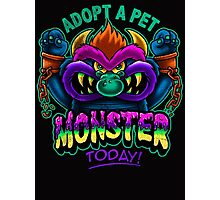 Adopt a Pet Monster Photographic Print