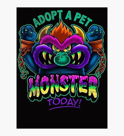 Adopt a Pet Monster Photographic Print