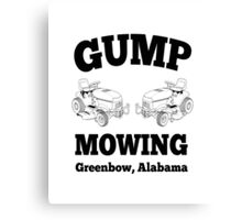 Forrest Gump - Gump Mowing  Canvas Print