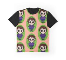 Chibi Boy Blue Graphic T-Shirt