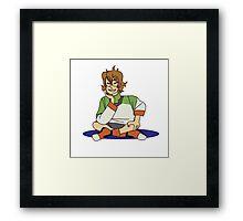 pidge doodle Framed Print