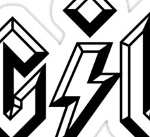 Agile - ACDC style Sticker