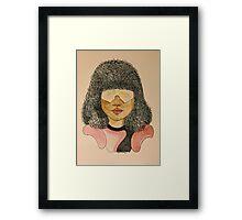 Hey Garnet! Framed Print
