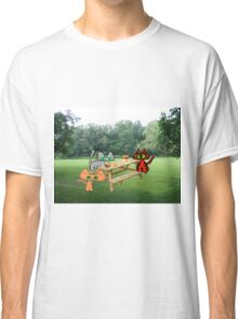 Cats  PicNic At The Park Classic T-Shirt