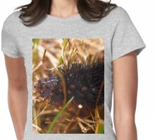 spikey Womens Fitted T-Shirt