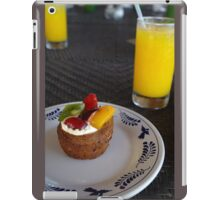 Fruit tart n Juice iPad Case/Skin