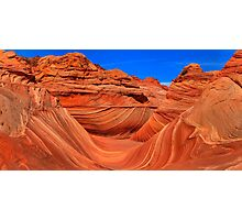 Coyote Buttes Wave Panorama Photographic Print